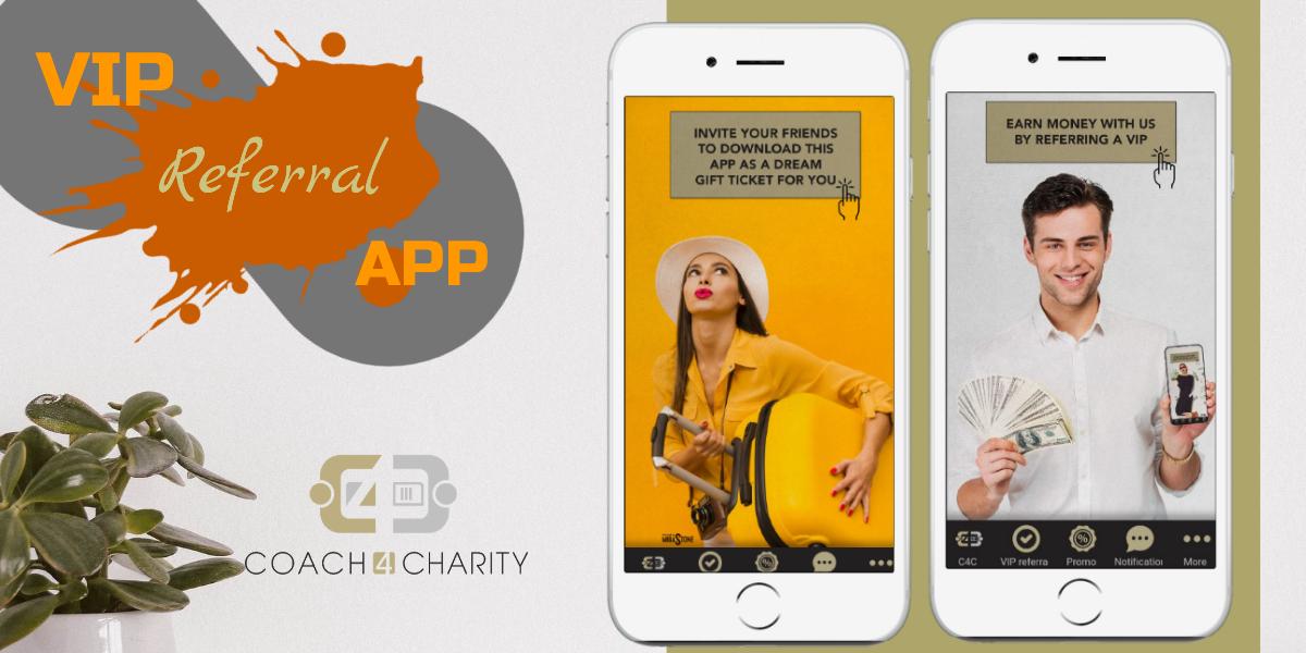 navigate vip referral app